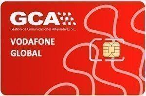 Tarjetas Vodafone Global
